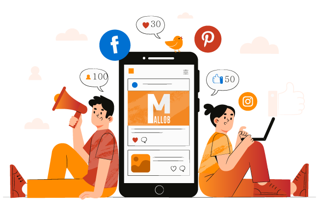 Social media marketing services- mallob